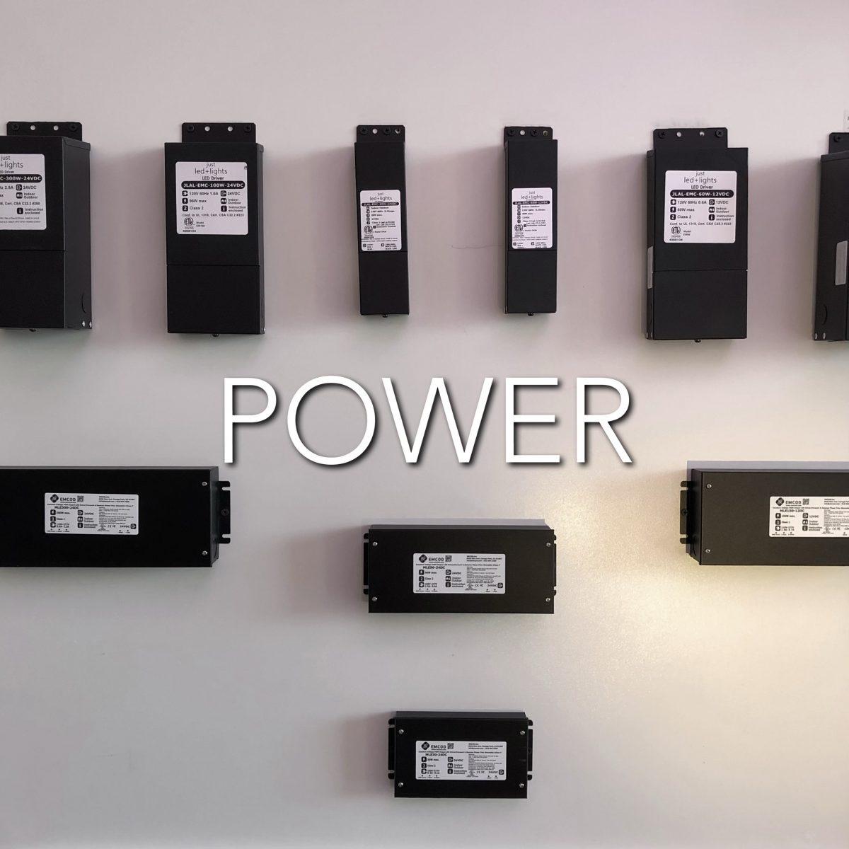 Power for Lighting